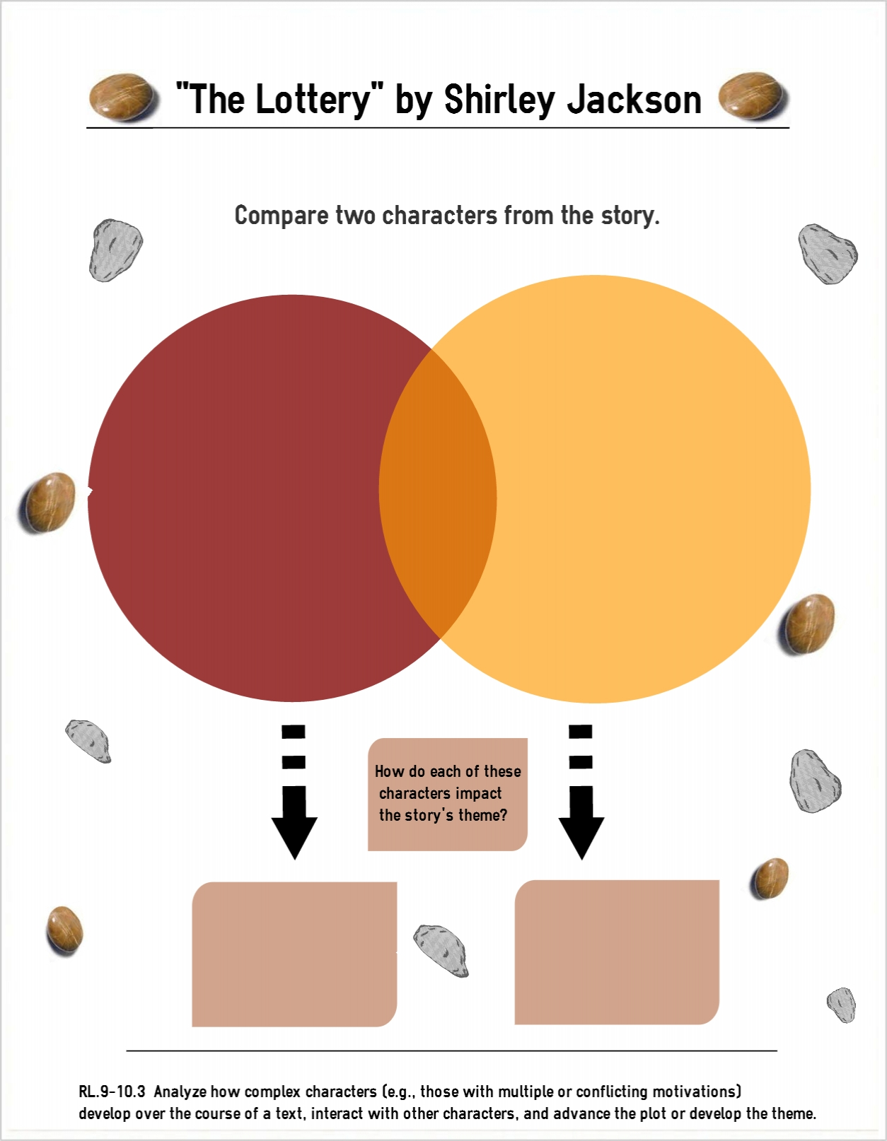 a comparison of two stories the lottery the story of an hour