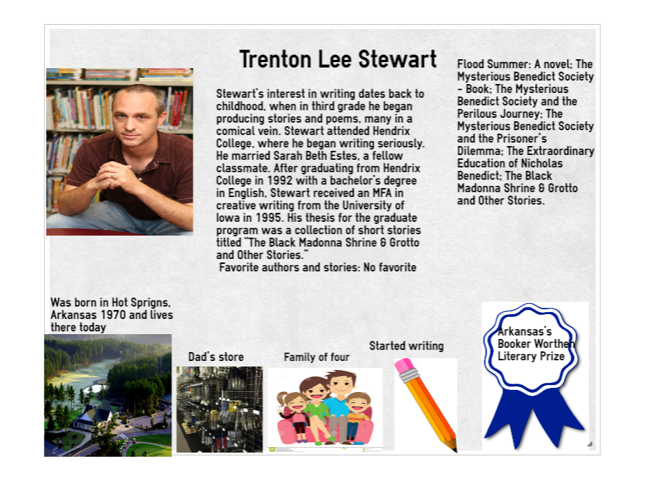 trenton lee stewart biography
