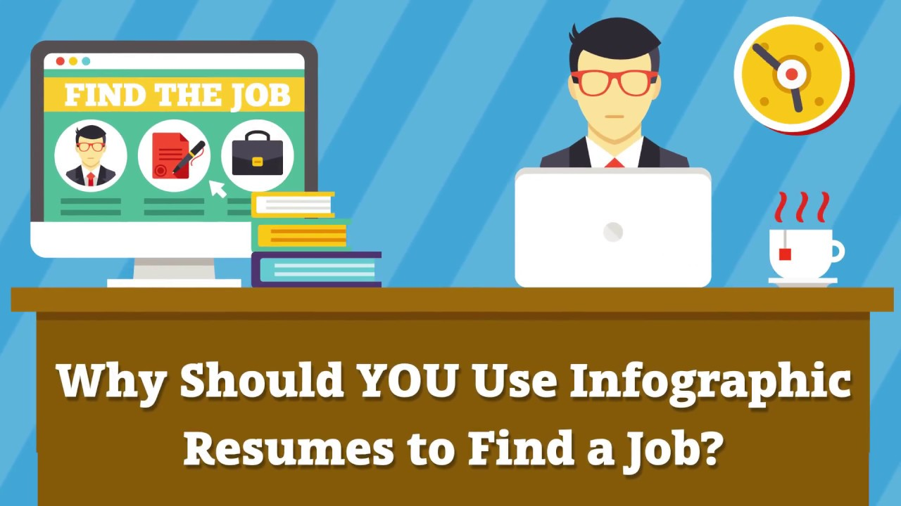 Why Should You Use Infographic Resumes To Find A Job